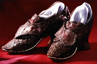 Martha Washington's Wedding Shoes