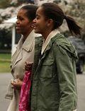 Michelle & Malia