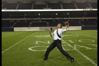 Obama at Soldier Field (Souza)