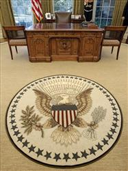 Oval office rug