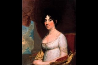 Dolley madison red room