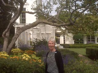 Jackie Kennedy's WH garden