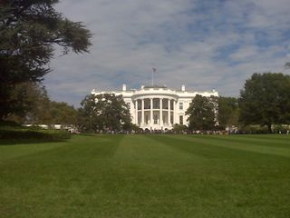 WH from South Lawn